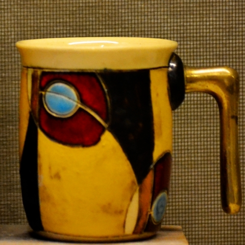 GW MUGS DIANA YELLOW - SMALLER