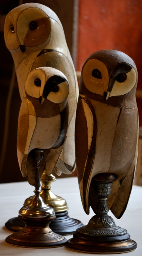 SARKA OWL WITH FRIENDS