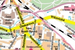 Map of Prague, Prague city guide