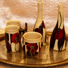 VALENTINO MUGS WITH VASES