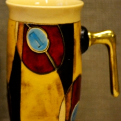 GW MUGS CECILIA YELLOW - SMALLER